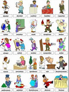 Trabajos en inglés