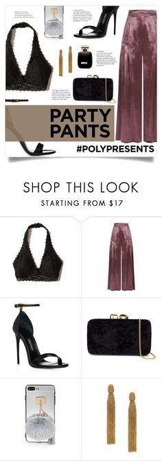 """""""#PolyPresents: Fancy Pants"""" by alystyles12 ❤ liked on Polyvore featuring Hollister Co., Temperley London, Kayu, Oscar de la Renta and Nina Ricci"""