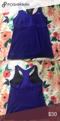 Nike Dri-fit Tank In perfect condition. No defects. Really soft and comfy. Nike Tops Tank Tops