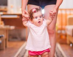 Important reasons not to walk your baby by holding their hands. GymbaROO BabyROO