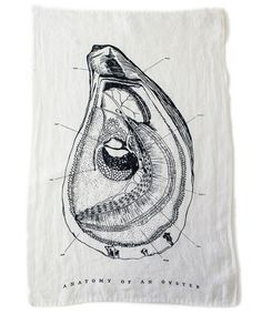 Shop Nectar - Sir Madam Oyster Tea Towel