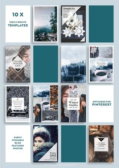 Nordic Winter SOCIAL BANNER Pack by Andimaginary Design Co. on @creativemarket