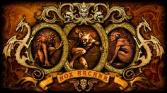 Nox Arcana - Gargoyles by adamtsiolas.deviantart.com on @DeviantArt