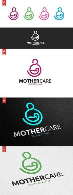 Mother Care Logo Mother Care, Mother And Child, Graphic Design Branding, Logo Design, Clinic Design, Care Logo, Bag Packaging, Kids Logo, Creative Logo