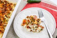 Keto Jalapeno Popper Casserole Keto Crockpot Recipes, Low Carb Recipes, Diet Recipes, Chicken Recipes, Cooking Recipes, Healthy Recipes, Avocado Recipes, Ketogenic Recipes