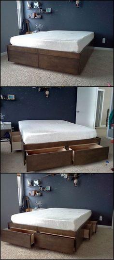 Do It Yourself Home Design: Best Diy, Diy Platform Bed And Easy