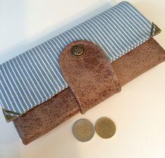 Geldbeutel,+Geldbörse+aus+Kunstleder+von+Kleine+Wollbude+auf+DaWanda.com