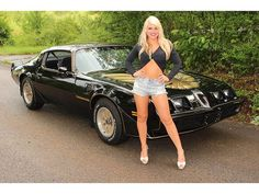 1979 Pontiac Trans Am Girl - Muscle Car 1979 Pontiac Trans Am, Pontiac Firebird Trans Am, 1979 Trans Am, 1969 Firebird, Aston Martin, Muscle Cars For Sale, Best Muscle Cars, American Muscle Cars, Porsche 911