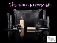 The full flourish collection is a great collection worth over £200.  It contains I need to create a full look weather it be for daytime or nighttime in fact this collection could do both!  You get to choose all the colours and it's even got one of our brand new luminizers included - what colours would u go for? #SazziDivas