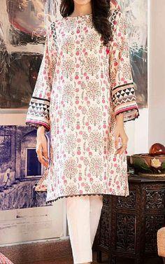 Lawn Suits, Famous Brands, Kurti, Off White, Sapphire, Kimono Top, Cover Up, Cotton, Clothes