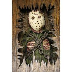 Friday the Coffee Table Jason Friday, Friday The 13th, Halloween Boo, Halloween Horror, Halloween Ideas, Horror Room, Horror Art, Creepy, Scary