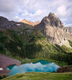This Underrated Trail Just Might Be The Most Beautiful Place In Colorado // Ice Lakes