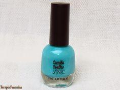 Terapia Feminina: Esmalte da vez: Blue Jade YNC by Camila Coelho