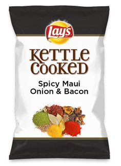 Wouldn't Spicy Maui Onion & Bacon be yummy as a chip? Lay's Do Us A Flavor is back, and the search is on for the yummiest flavor idea. Create a flavor, choose a chip and you could win $1 million! https://www.dousaflavor.com See Rules.