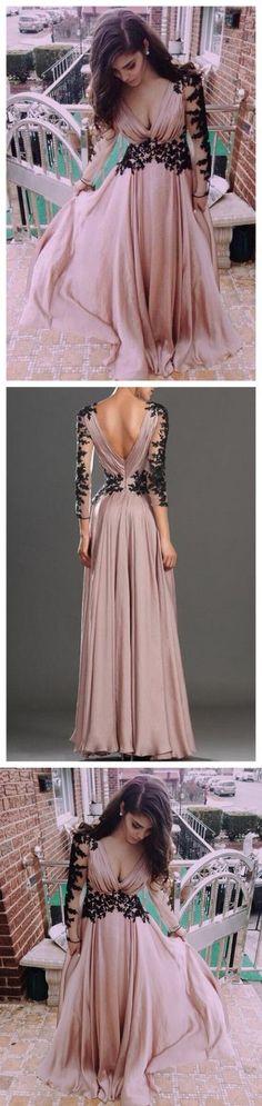 long sleeve prom dress, pink prom dress, chiffon prom dress, prom dress, elegant prom dresses, popular prom dress, M0345#prom #promdress #promdresses #longpromdress #promgowns #promgown #2018style #newfashion #newstyles #2018newprom#eveninggowns#longsleevepromdress#pinkpromdress#chiffonpromdress#elegantpromdress