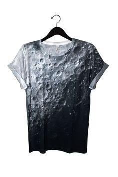 Moon Tee from Shadowplaynyc  | Galaxy Print Clothing