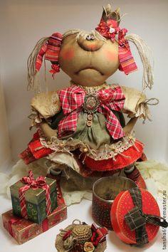 А хде сабачка?... - примитив,примитивная кукла,примитивы,текстильная кукла