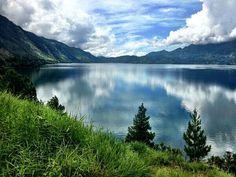 Takengon lake, Pagang island,, ACEH