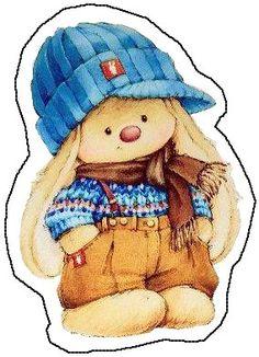 Photo Tatty Teddy, Teddy Bear, Bunny Art, Cute Bunny, Cute Images, Cute Pictures, Blue Nose Friends, Cute Animal Illustration, Easter Ideas