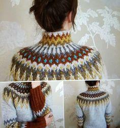 På onsdag neste uke får vi inn igjen garnet til Alvhild W Nordals vakre redesign av Ranga ❤ link til bestilling i kommentarfeltet… Fair Isle Knitting Patterns, Knitting Stitches, Knitting Designs, Knit Patterns, Free Knitting, Knitting Projects, Crochet Projects, Sock Knitting, Knitting Tutorials