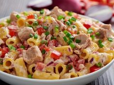 recipe_for Tonhalas tésztasaláta Salad Dressing, Potato Salad, Macaroni And Cheese, Salads, Food And Drink, Cooking Recipes, Favorite Recipes, Pasta, Baking