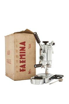 Faema - 1952 One Group Faemina Model - Milan   Enrico Maltoni's Collection   Espresso Made In Italy