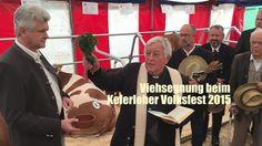 Viehsegnung beim Keferloher Volksfest 2015 durch Prälat Josef Obermaier ...