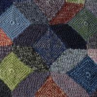 merino wool Equilibre acces-soirs.com/sophie-digard-scarf-hand-crochet-geometric-merino-en.htm