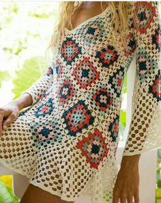 Crochet beach dress crochet maxi dress crochet dress etsy 2019 summer beach dress women sexy mini dress boho knit crochet hollow out party dress Pull Crochet, Mode Crochet, Crochet Lace, Hippie Crochet, Crochet Beach Dress, Dress Beach, Crochet Dresses, Crochet Summer, Crochet Dress Patterns