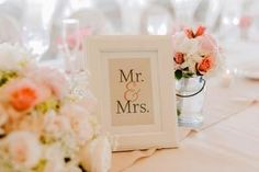 A sweet framed sign for a wedding sweethearts' table! | Shelly's Designs Florist in Walker, MI