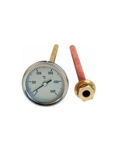 Termómetro c/ sonda de 30cm