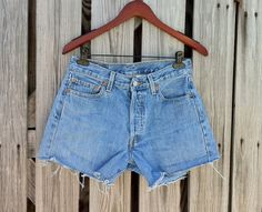 Vintage LEVI 501 Button Fly Jean Shorts  HIGH by TomieHarlene, $20.50