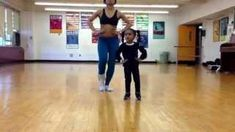 Mother And 2 Years Old Daughter's #Cute Beyonce's End Of Time #Dance
