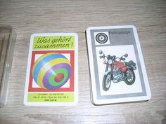 Was gehört zusammen? Quartett ab 5 Jahre unbespielte Karten Altenburg DDR