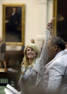 Wendy Davis Performed a Historic Filibuster and Became a Feminist Hero - 27 Most Iconic Feminist Moments of 2013