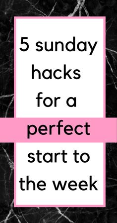 How to have a perfect start to the week: make the most out of your Sunday's! These helpful productivity tips and life hacks will have you all set! Life Advice, Career Advice, Sunday Routine, Productive Day, Productivity Hacks, Organize Your Life, Time Management Tips, Best Blogs, Self Improvement