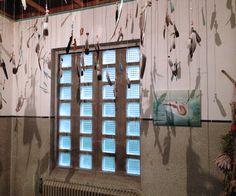 Installatie in Portiersloge, Ellen Grote Beverborg coderood.co 27-6-2015