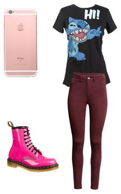 """""""Untitled #8"""" by roan-specht on Polyvore featuring Disney and Dr. Martens"""