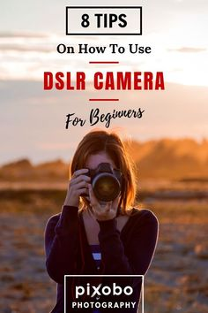 Do you know enough about DSLR basics? Here you can find 8 tips for DSLR camera and learn everything you need to know about how to use DSLR camera for beginners. Dont wait, use the full potential of your DSLR camera with our beginners guide. Canon Camera Models, Cameras Nikon, Canon Dslr Camera, Sony Camera, Camera Hacks, Canon Eos, Dslr Photography Tips, Photography Tips For Beginners, Photography Lessons