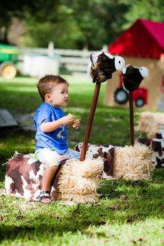 Down on the Farm/All About Tractors Birthday Party Ideas | Photo 56 of 296 | Catch My Party