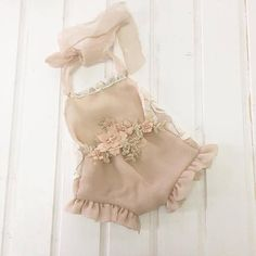 Soft and delicate photo prop outfit Pink powder and ivory lace on the chest , flower lace embroidery. Baby Girl Birthday Dress, Baby Girl Romper, Little Girl Dresses, Baby Dress, Girls Dresses, Dance Outfits, Kids Outfits, Baby Overalls, Newborn Girl Outfits