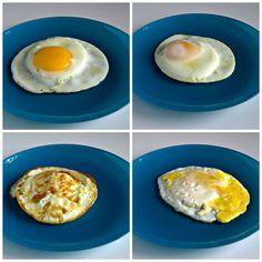 Como freír huevos... Porque a veces no sabemos cómo hacer algo que parece sencillo.
