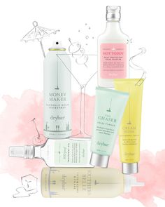 Drybar's cocktail-inspired hairstyles - read more on the Glossy! #Sephora