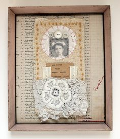 Collage art--She works with eager hands by Rebecca Sower, via Flickr