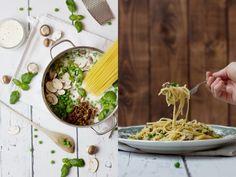 One-Pot-Pasta mit Quorn-Hack