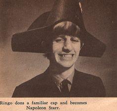 "Ringo ""Napoleon"" Starr"