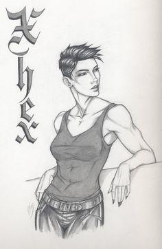 Love her! Where's John Michael? Xhex by Anyae.deviantart.com on @deviantART