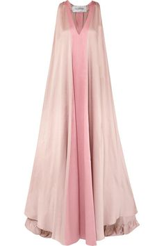 Valentino   Two-tone hammered silk-satin gown   NET-A-PORTER.COM