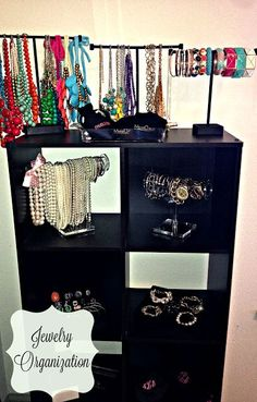 23 Creative Jewelry Organization Ideas... Needing this bad for my #chloeandisabel jewelry