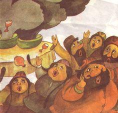Złoty arbuz - bajka uzbecka , il. Julitta Karkowska - Wnuczak, autor: B. Zagała, Poland